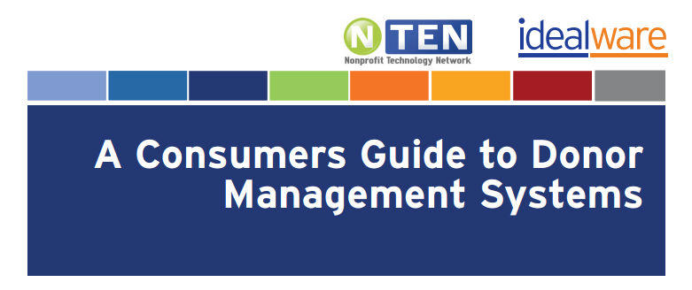 A Consumers Guide to Donor Management Systems
