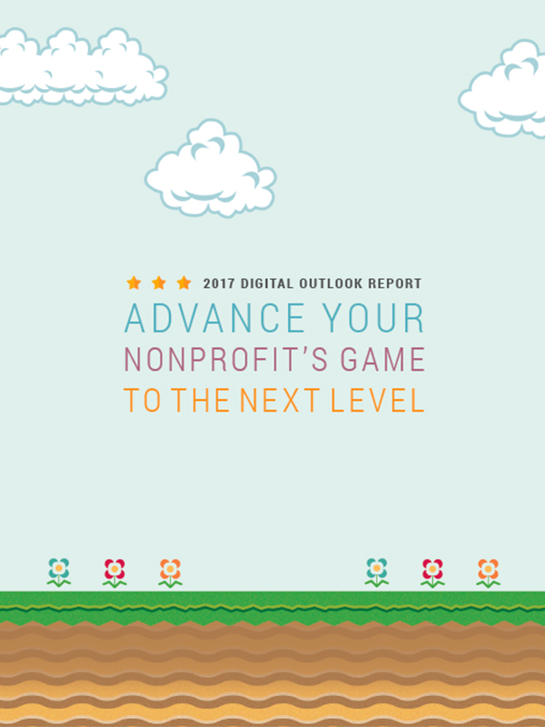 cover image of the 2017 Digital Outlook Report