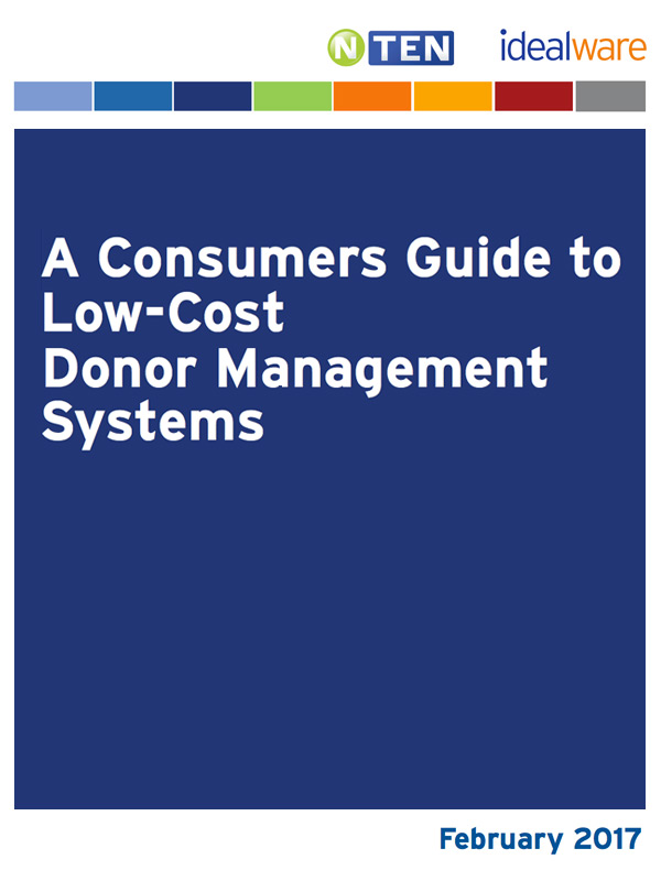 2017 Donor Management Systems report