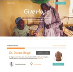 Samahope website