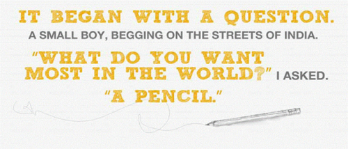 pencils of promise take action for Pencils of promise: effectively spreading the word across social media channels try ning for free ★ ning - is the largest community building platform in the world.