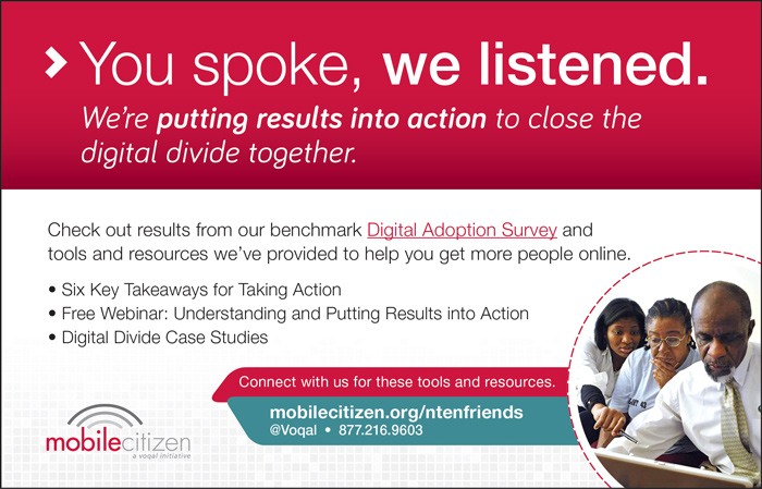 You spoke, we listened. We're putting results into action to close the digital divide together.  mobilecitizen.org/ntenfriends
