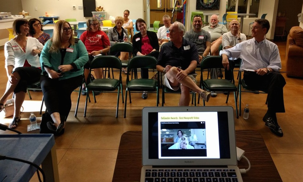 Tech4Good SWFL group chatting