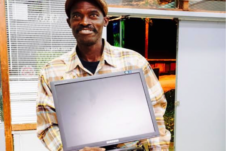 Jimmy was a participant in our first Digital Literacy/Job Readiness program in a public housing community in Durham.