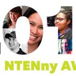 "An image that says ""2016 NTENny Award"" with a photo collage of the winners faces in the numbers."