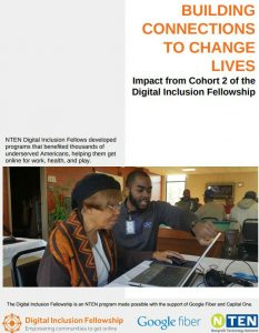 Front cover of Building connections to change lives fact sheets cover