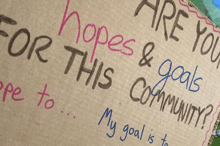 Hopes and goals list