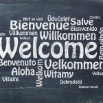 Welcome written in multiple languages