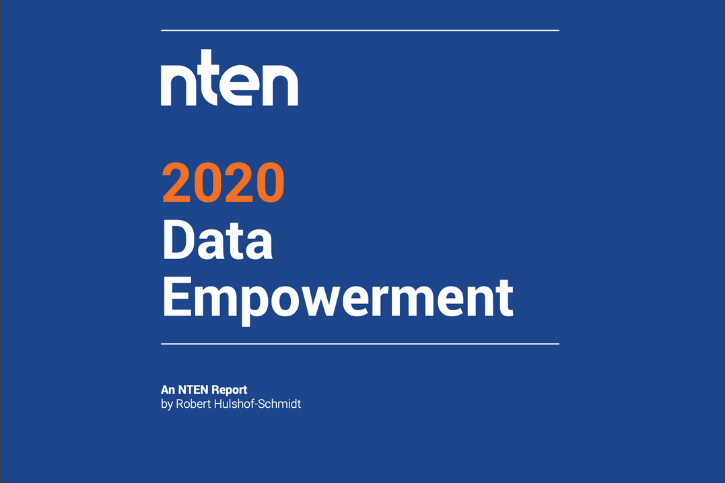 2020 Dat Empowerment report blue cover