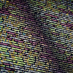 A screen of colorful, nonstop data.