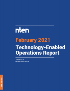 Cover of Technology-Enabled Operations Report_February 2021