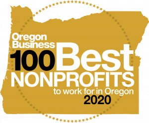 Oregon Business' 100 Best Nonprofits to Work For in Oregon 2020_logo